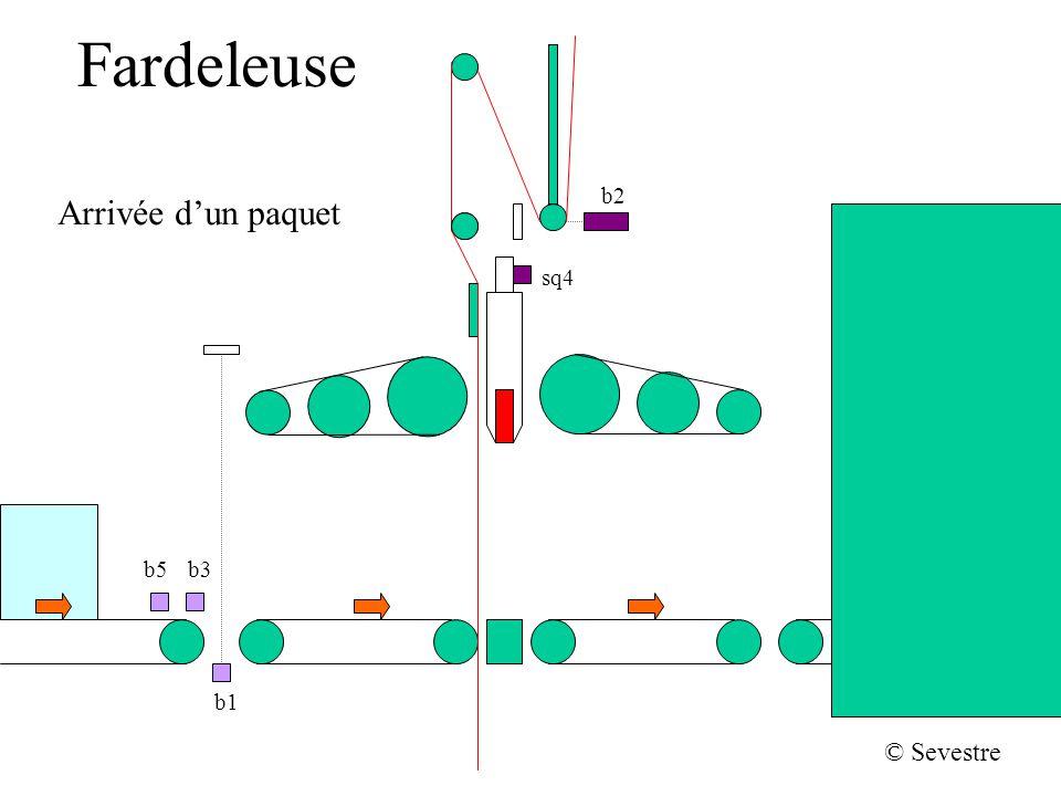 Fardeleuse b2 Arrivée d'un paquet sq4 b5 b3 b1 © Sevestre