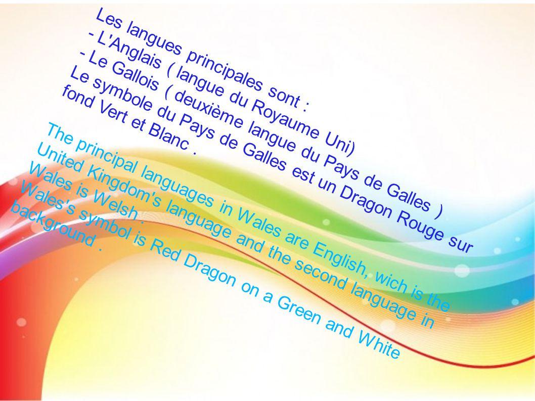 Les langues principales sont :