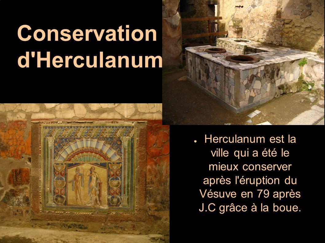 Conservation d Herculanum