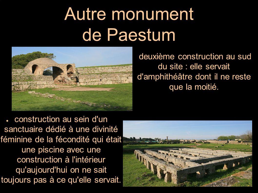 Autre monument de Paestum