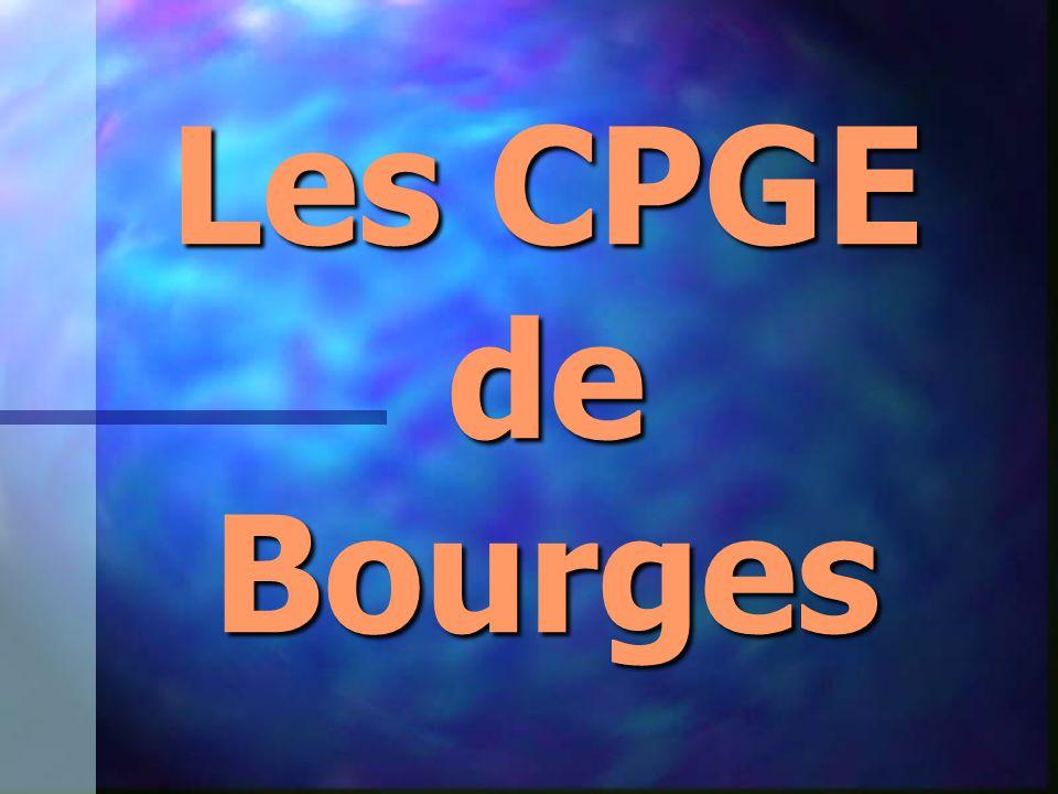 Les CPGE de Bourges