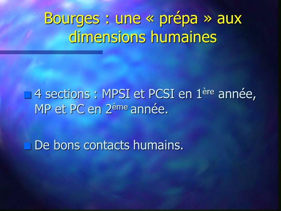 Bourges : une « prépa » aux dimensions humaines