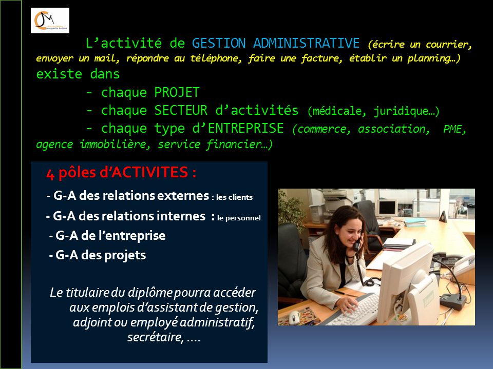 - G-A des relations externes : les clients