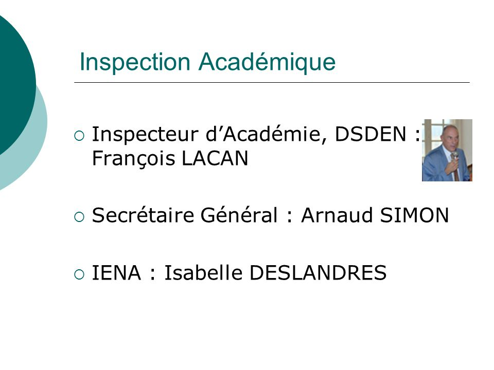 Inspection Académique