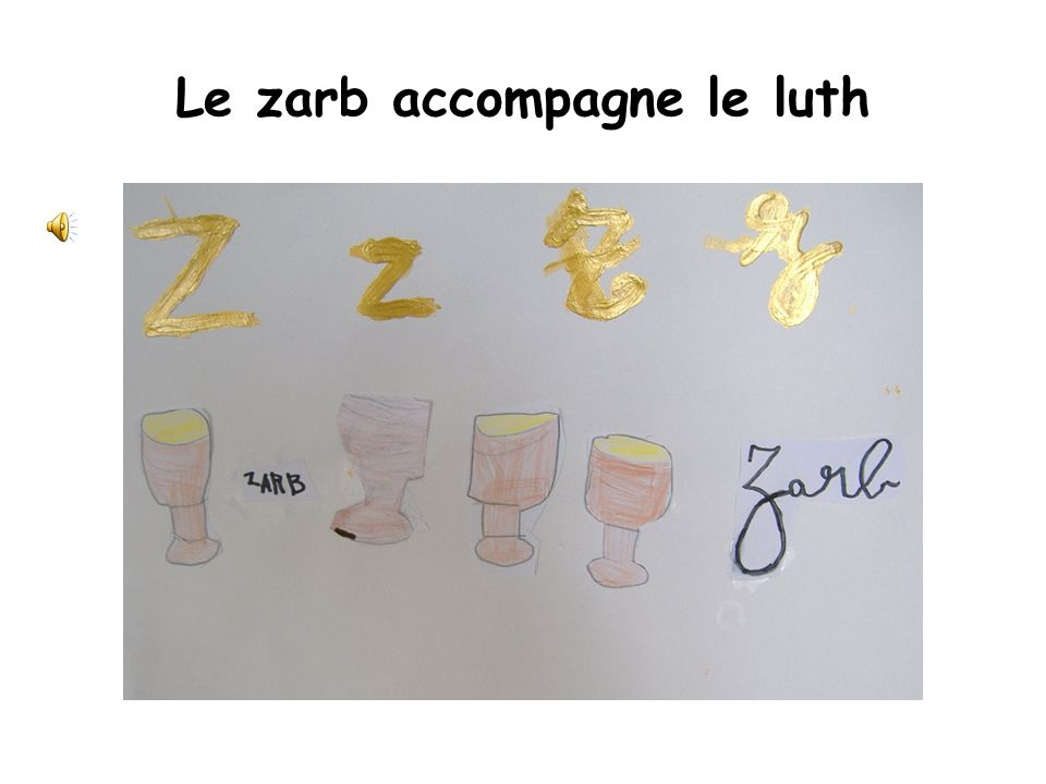 Le zarb accompagne le luth