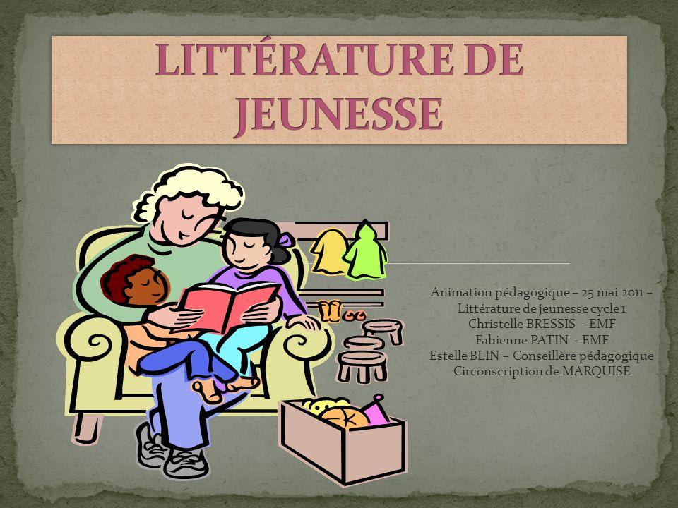 LITTÉRATURE DE JEUNESSE