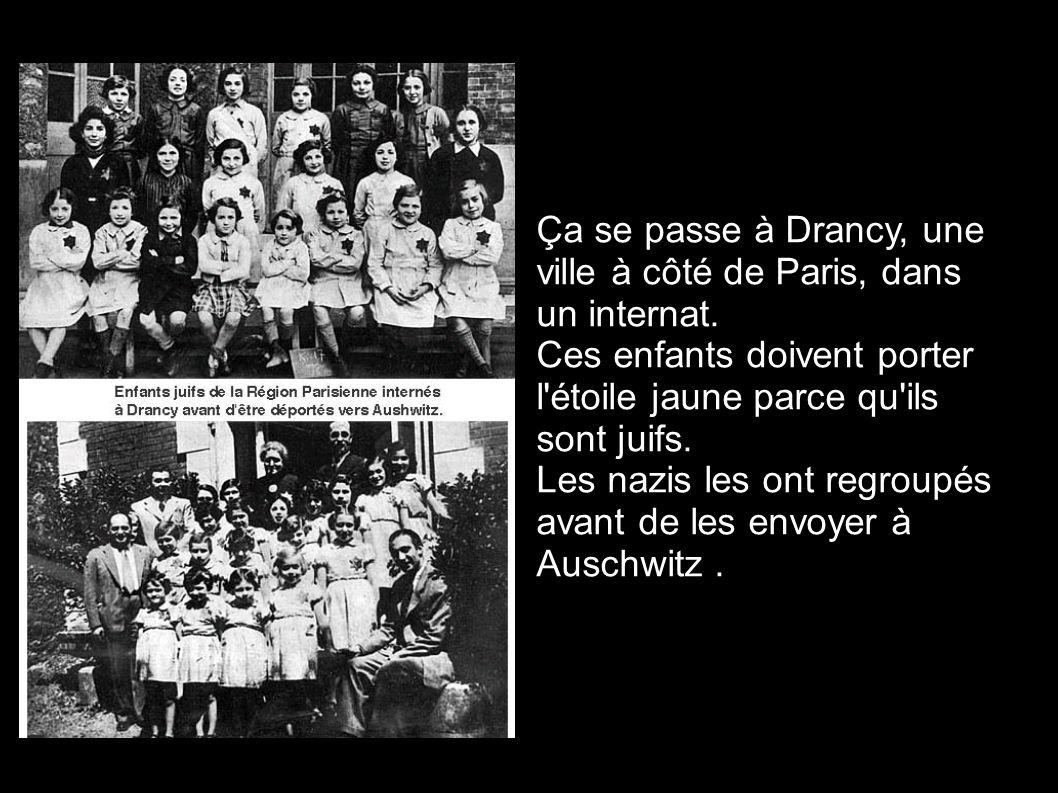 Ça se passe à Drancy, une ville à côté de Paris, dans un internat.