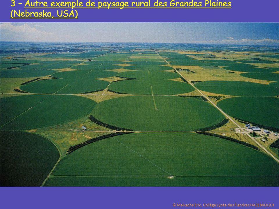 3 – Autre exemple de paysage rural des Grandes Plaines (Nebraska, USA)