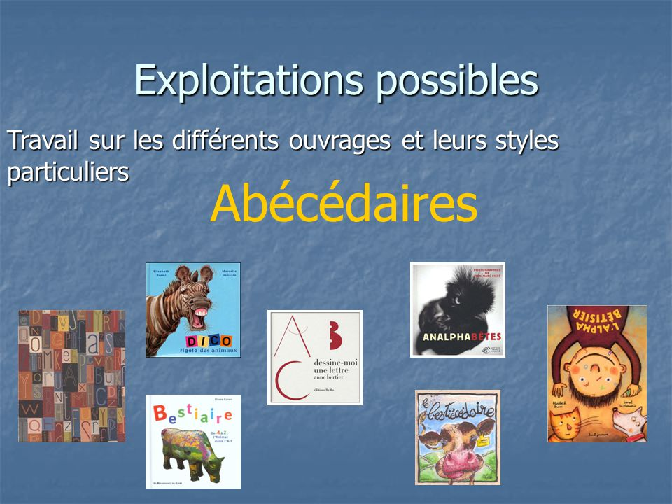 Exploitations possibles