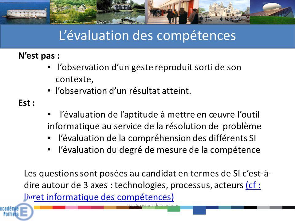 L'évaluation des compétences