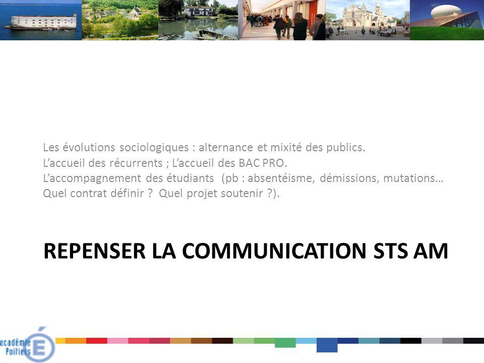 Repenser la communication STS AM