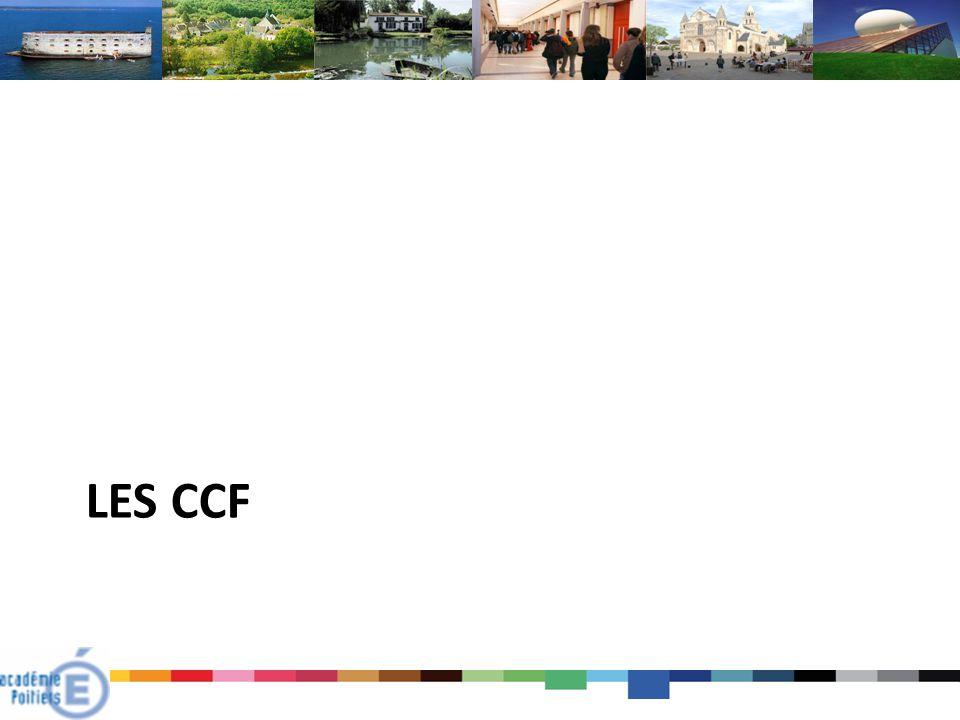 Les CCF
