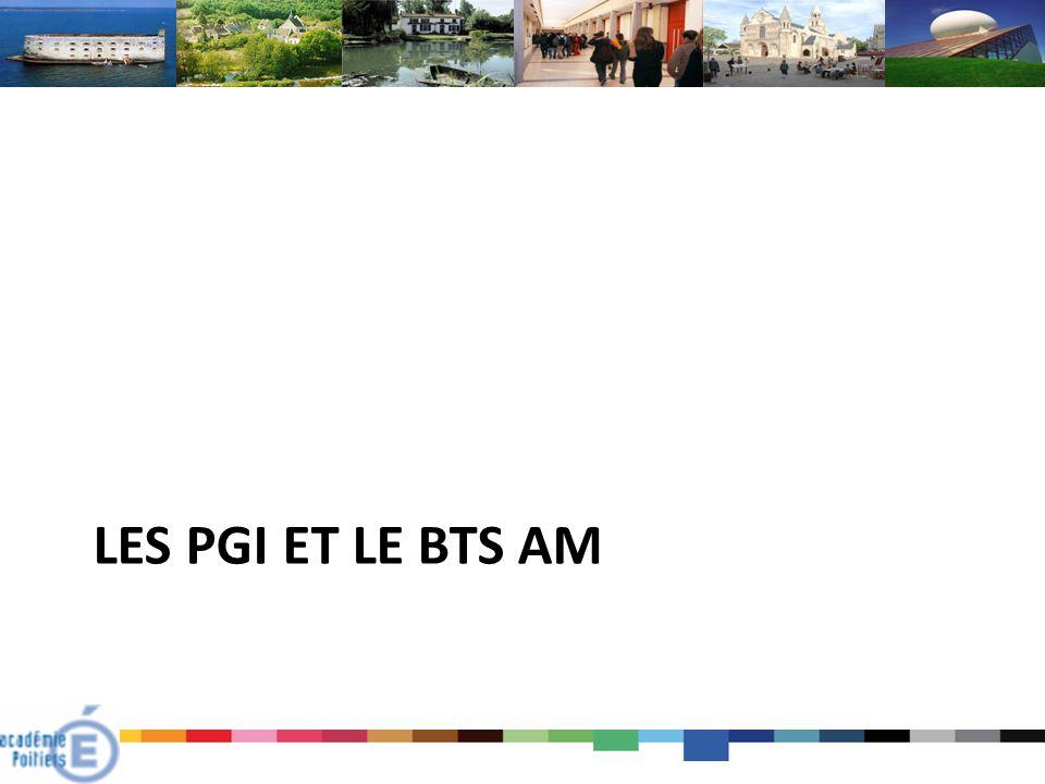 Les PGI et le BTS AM
