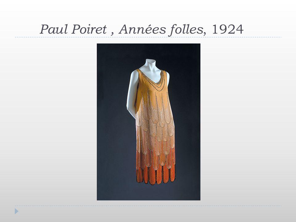 Paul Poiret , Années folles, 1924