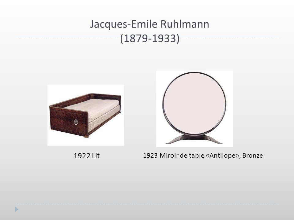 Jacques-Emile Ruhlmann (1879-1933)
