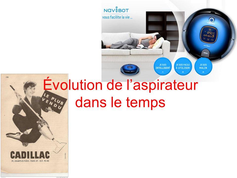 Évolution de l'aspirateur dans le temps