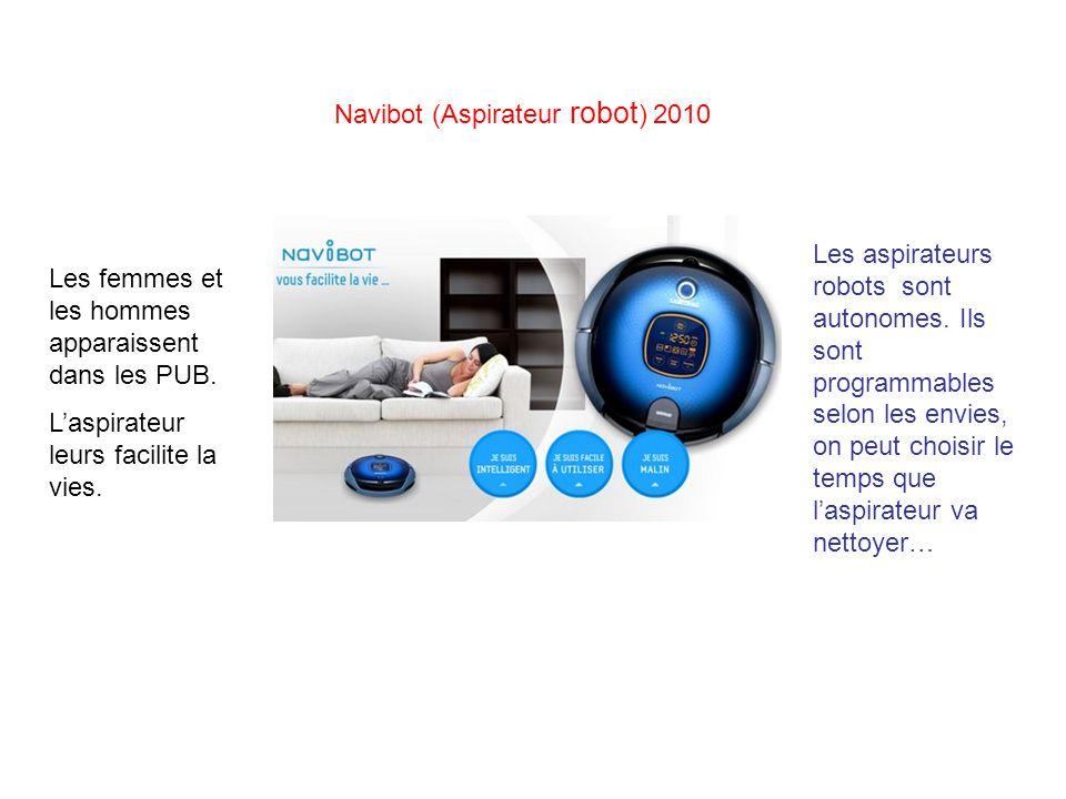 Navibot (Aspirateur robot) 2010