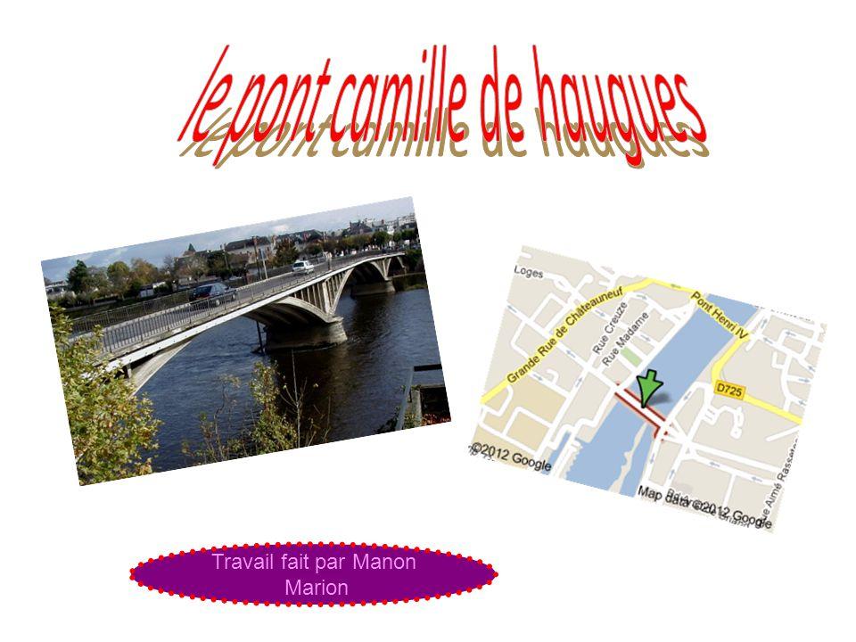 le pont camille de haugues