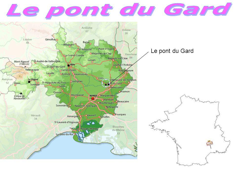 Le pont du Gard Le pont du Gard
