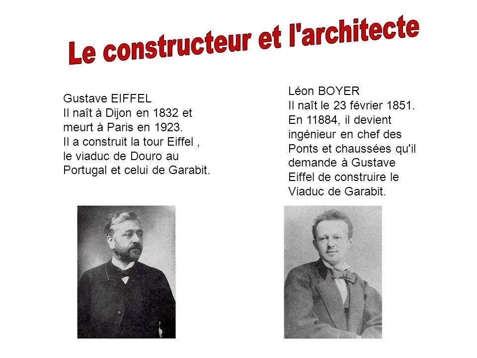 Le constructeur et l architecte