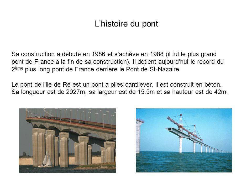 L'histoire du pont