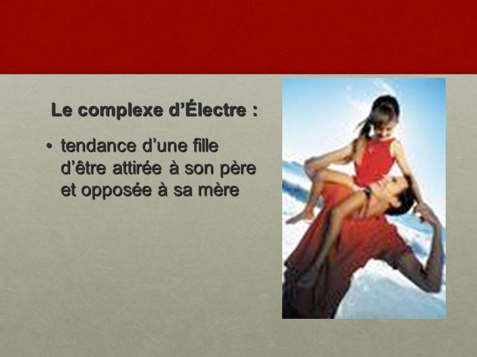 Le complexe d'Électre :