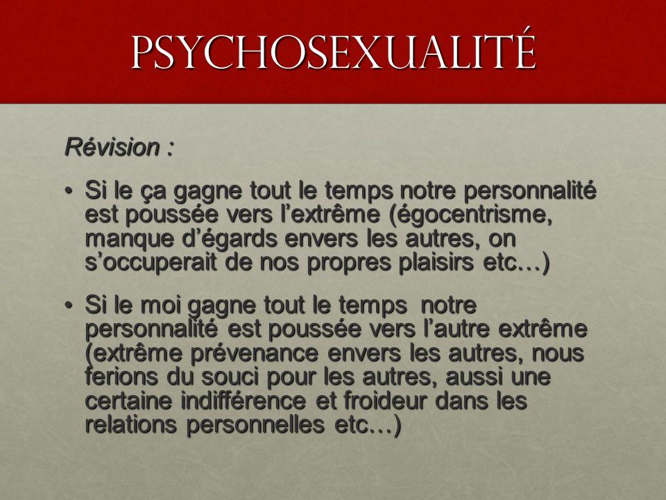 PSyChosexualité Révision :