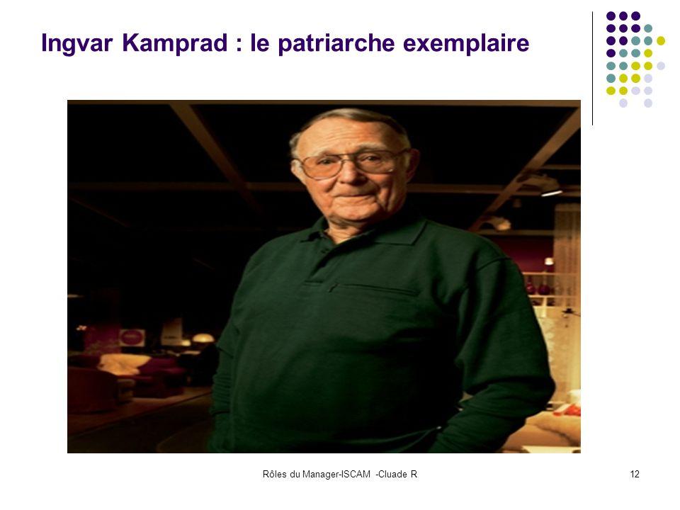 Ingvar Kamprad : le patriarche exemplaire