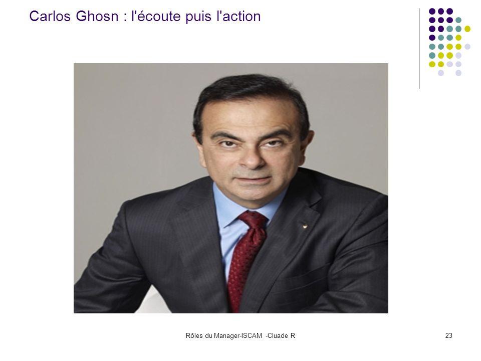 Carlos Ghosn : l écoute puis l action