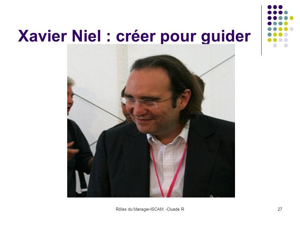 Xavier Niel : créer pour guider