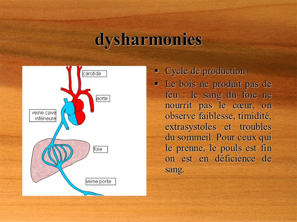 dysharmonies Cycle de production