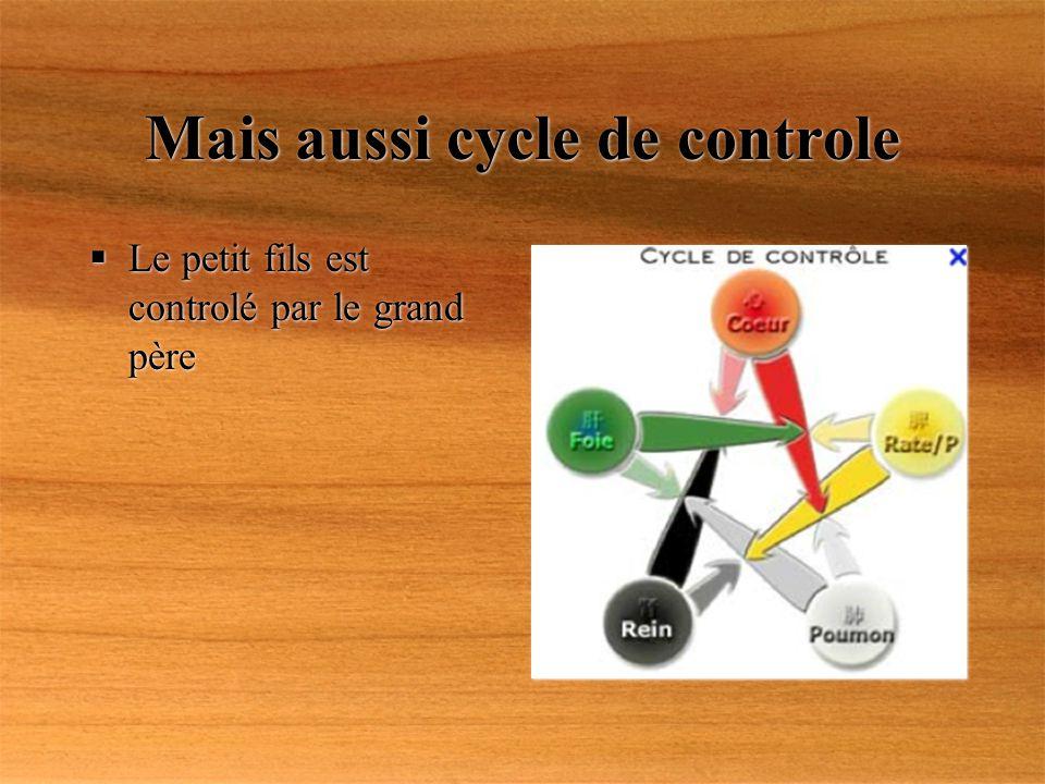 Mais aussi cycle de controle