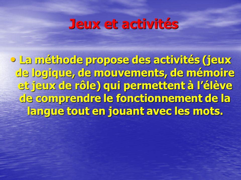 Jeux et activités