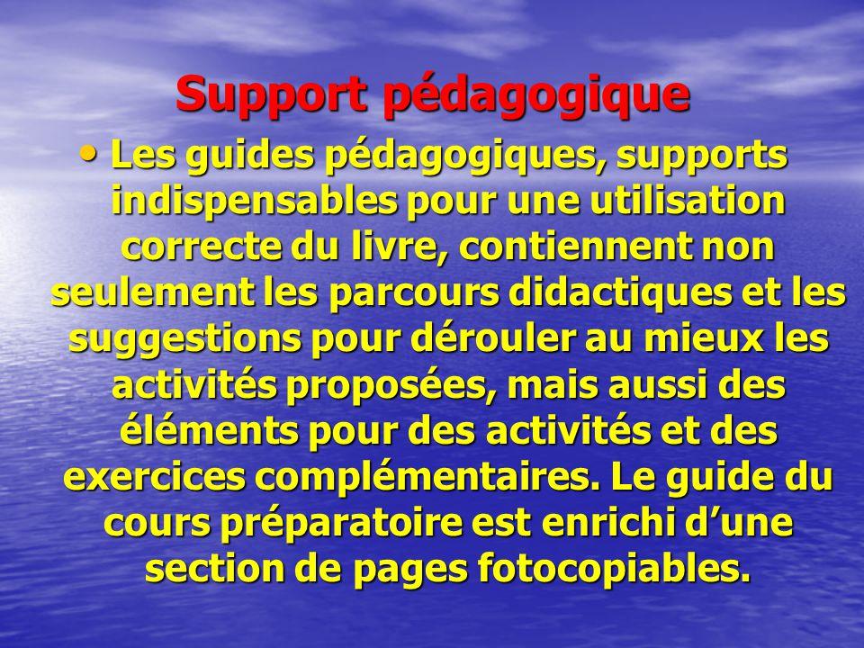 Support pédagogique