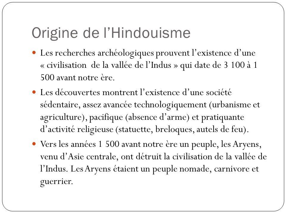 Origine de l'Hindouisme