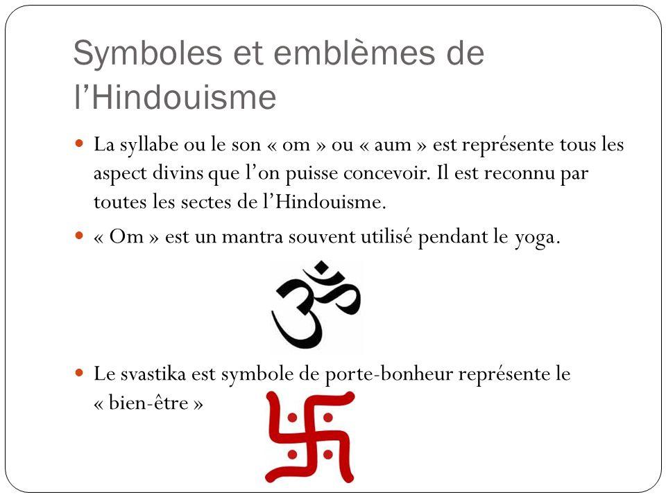Symboles et emblèmes de l'Hindouisme