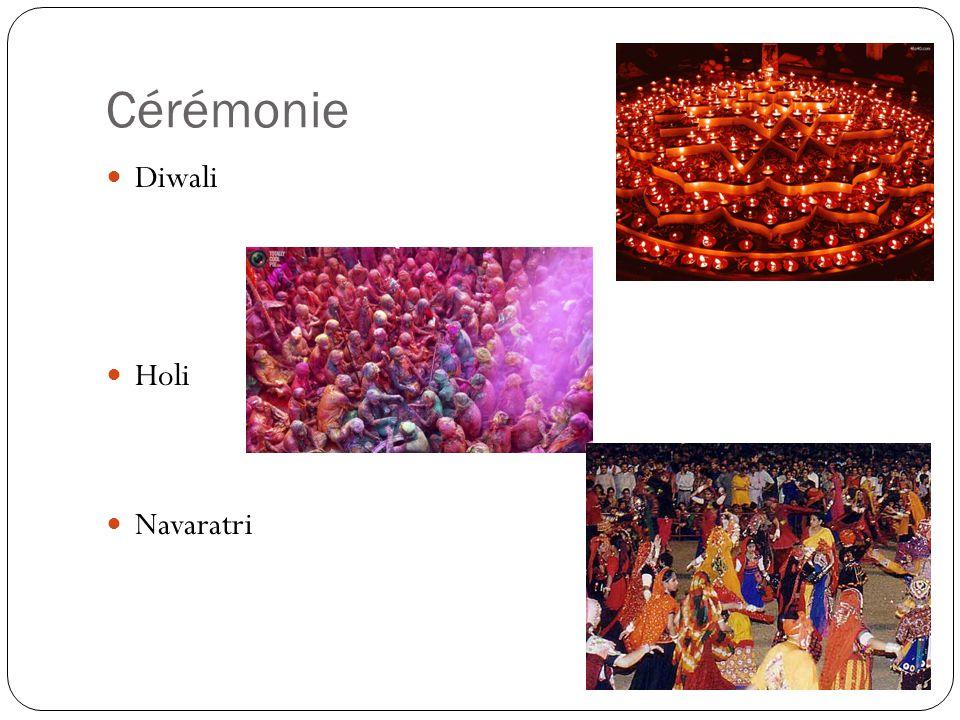 Cérémonie Diwali Holi Navaratri