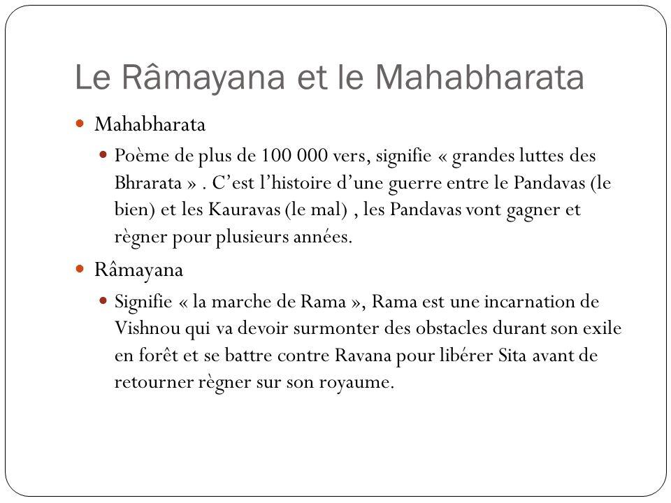 Le Râmayana et le Mahabharata