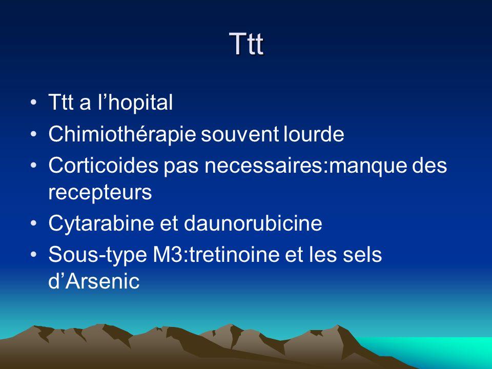 Ttt Ttt a l'hopital Chimiothérapie souvent lourde