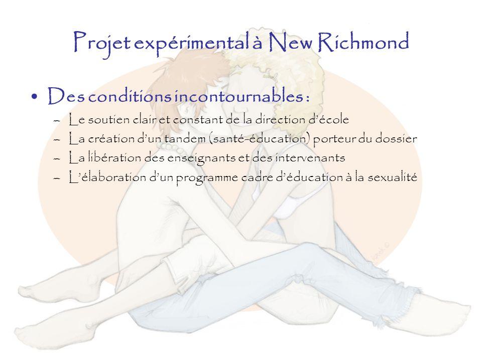 Projet expérimental à New Richmond