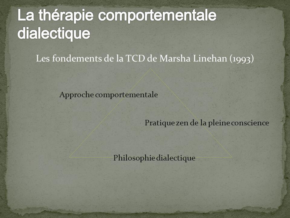 La thérapie comportementale dialectique