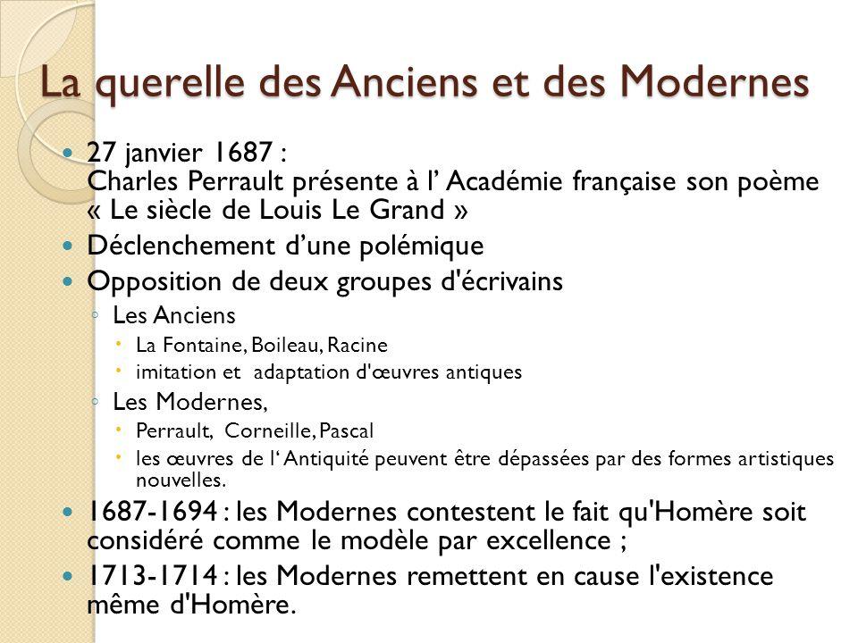 La querelle des Anciens et des Modernes