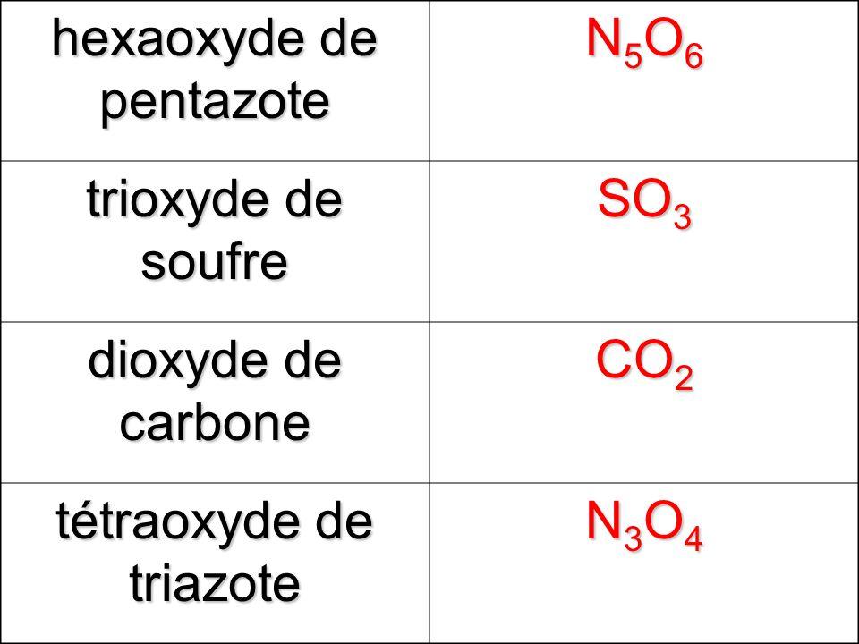 hexaoxyde de pentazote N5O6