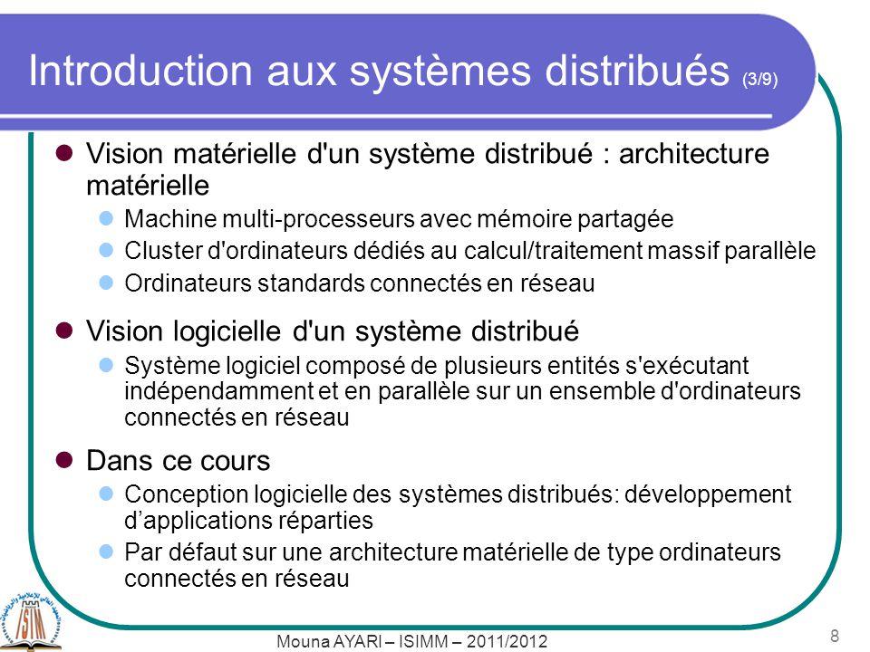 Introduction aux systèmes distribués (3/9)