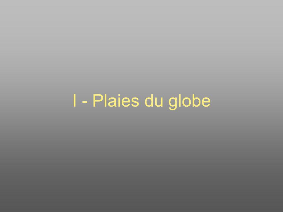 I - Plaies du globe