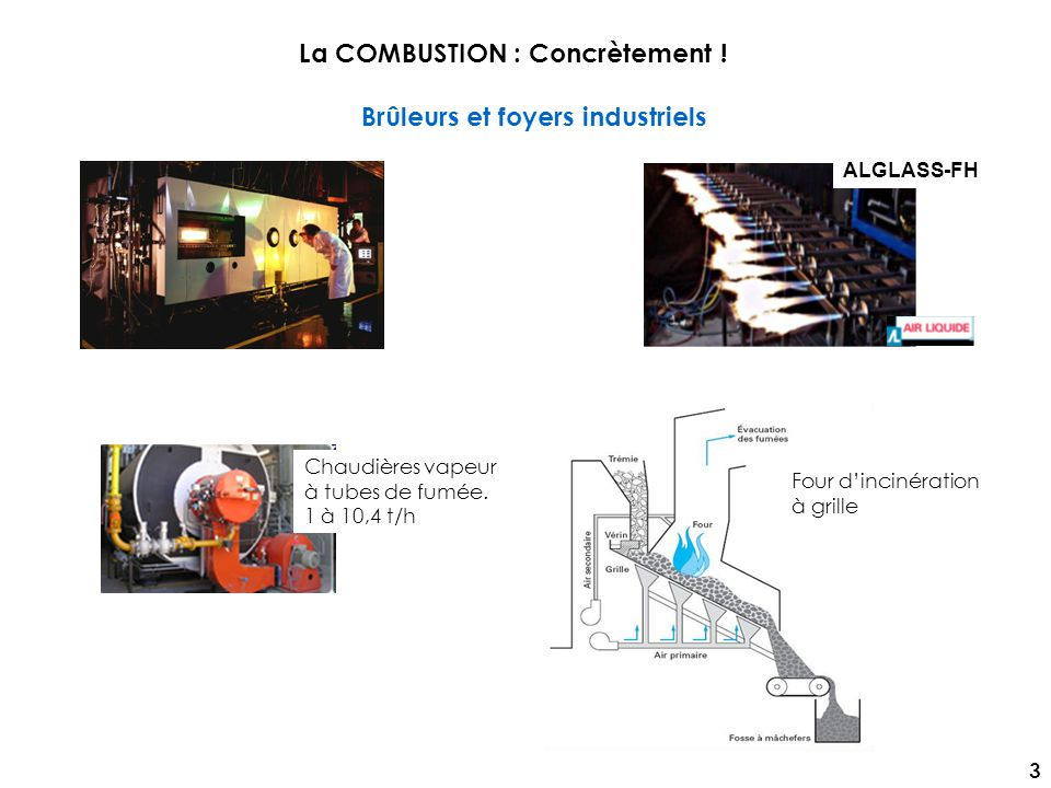 La COMBUSTION : Concrètement !