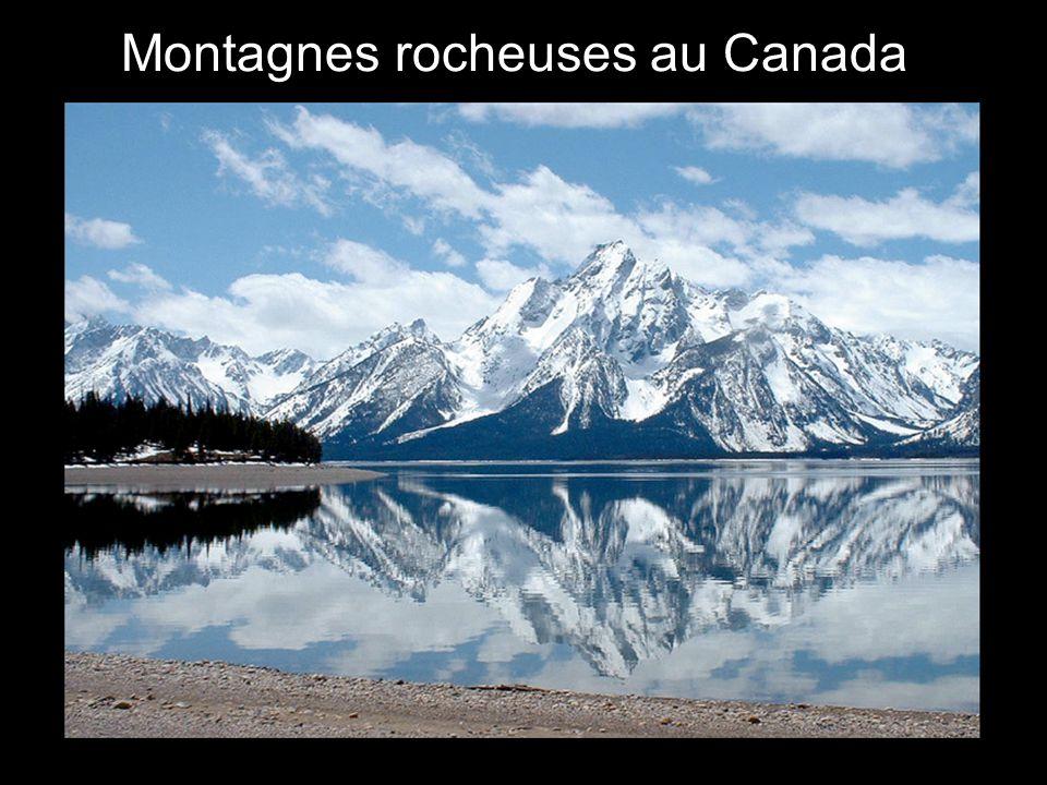 Montagnes rocheuses au Canada