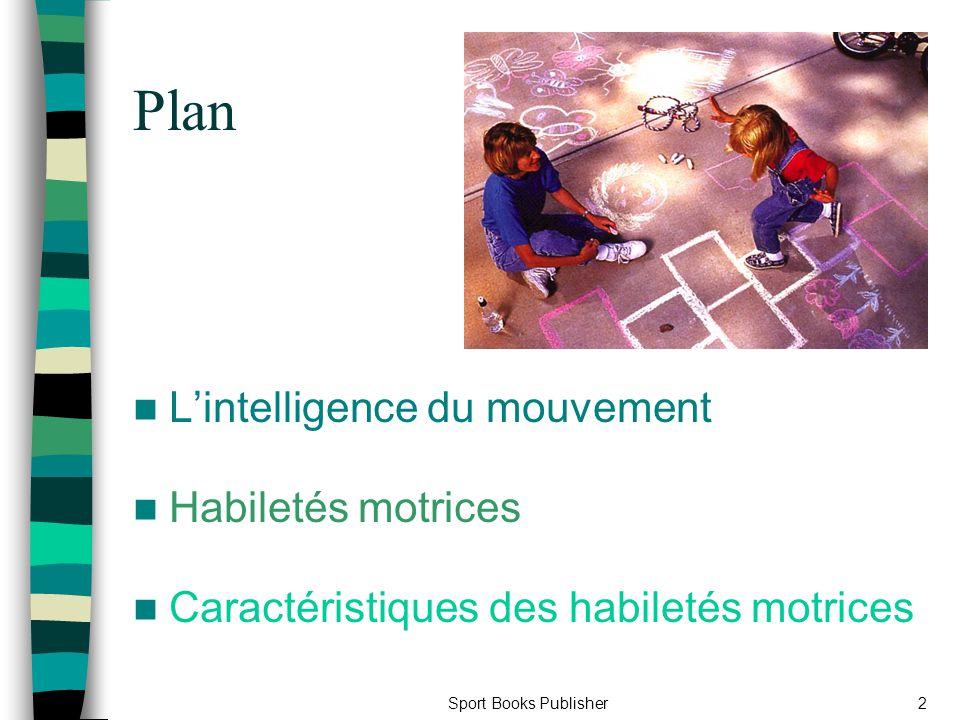 Plan L'intelligence du mouvement Habiletés motrices