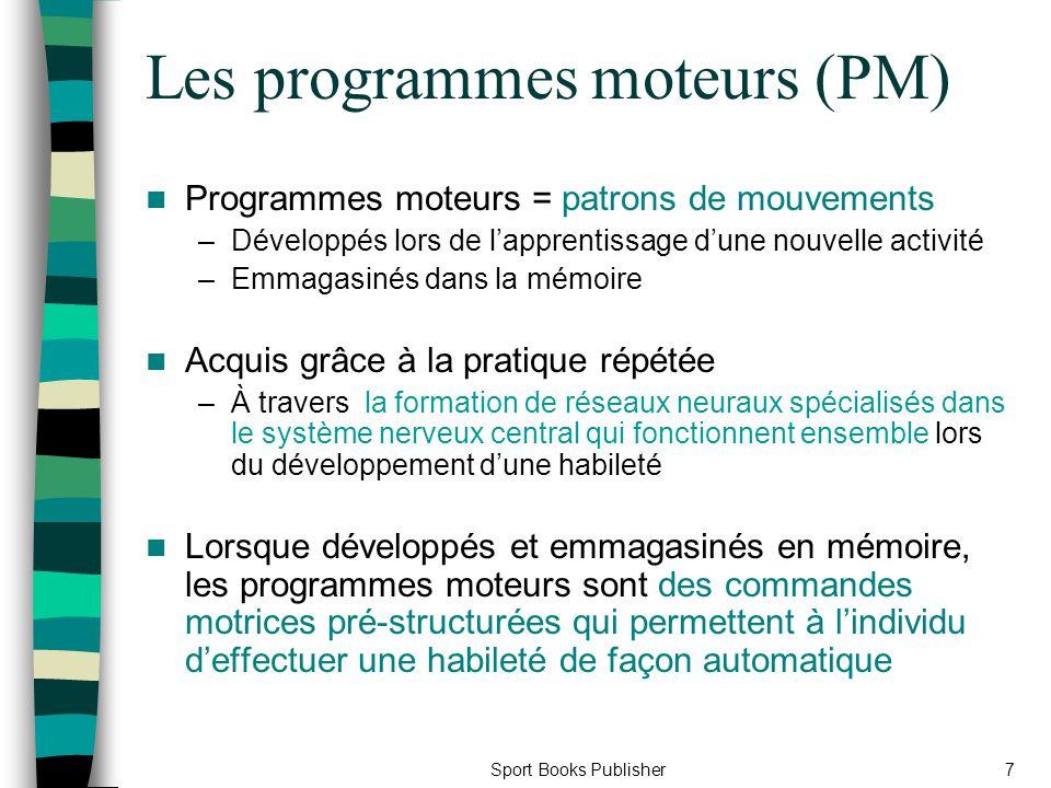 Les programmes moteurs (PM)