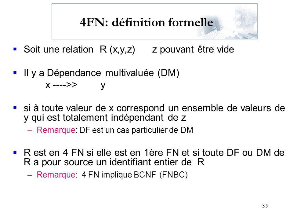 4FN: définition formelle
